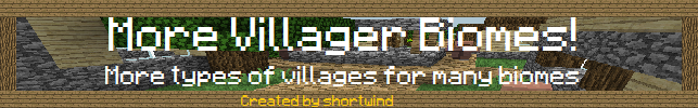More Village Biomes 1.5.1