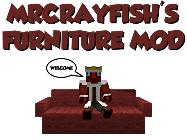 MrCrayfish's Furniture Mod v2.9.2