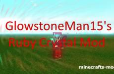 GlowstoneMan15's Ruby Crystal (�������������� �������) 1.8