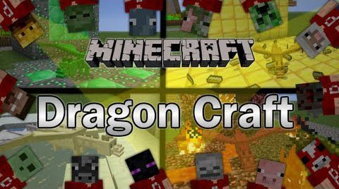 Dragon Craft (Дракон Краф) 1.6.4