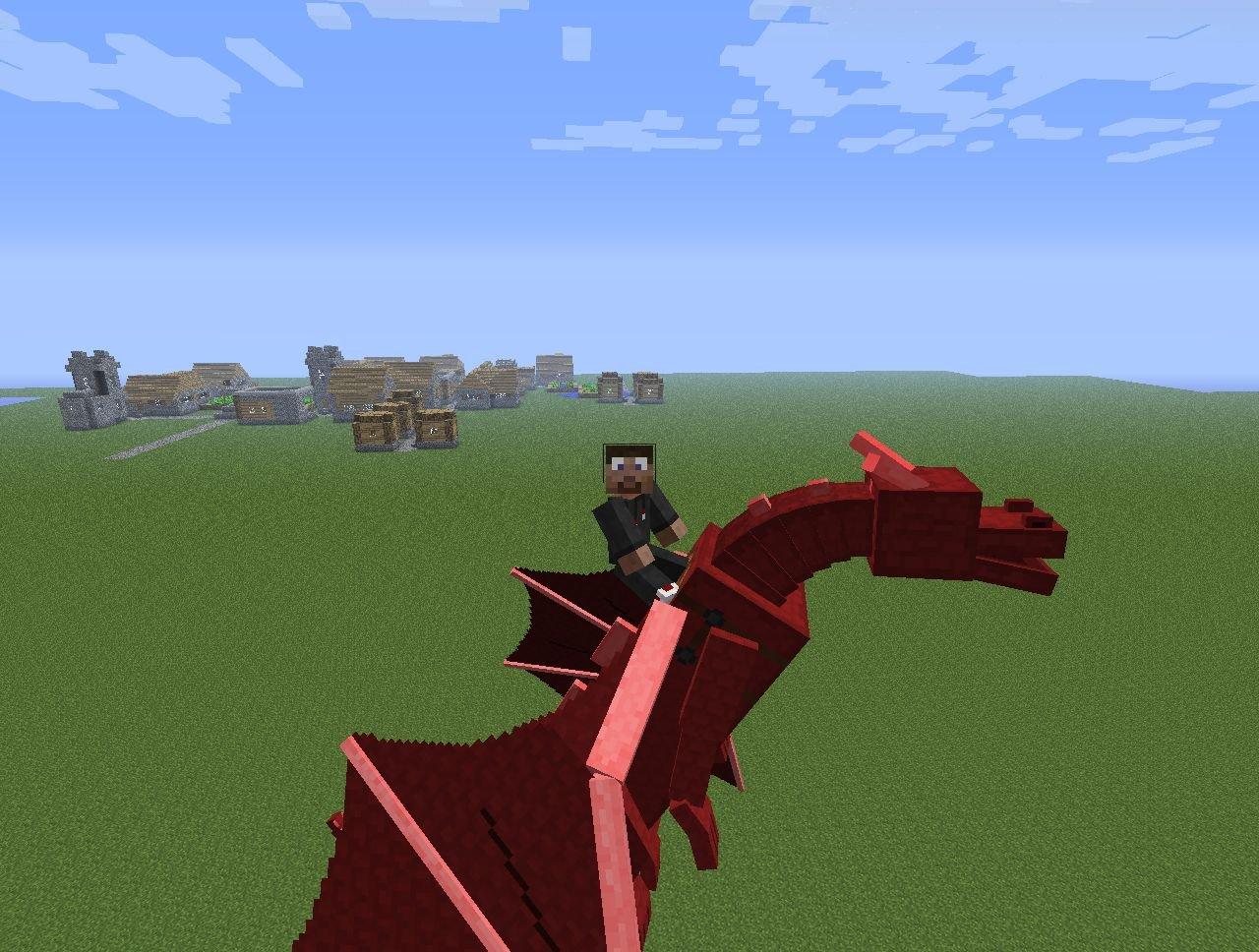 Как в майнкрафте сделать дракона 11