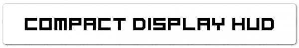 Compact Display HUD (Компактный Интерфейс) 1.7.2