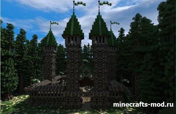 Medieval Fortress of Trone (Средневековая крепость)