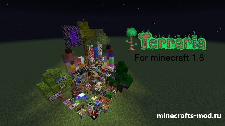 Terraria Themed (������� ����) 1.8 [16x]