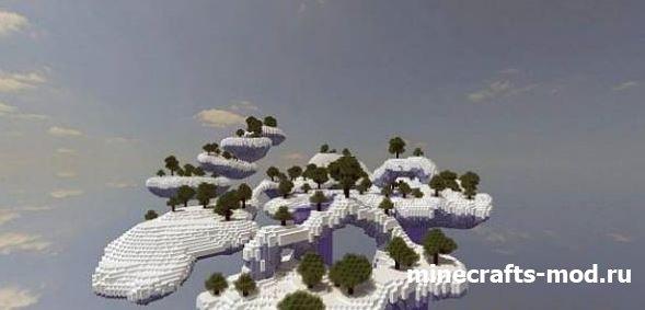 Frozen Floating Islands (Блуждающие глыбы льда)