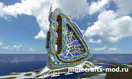 Dragonfly tower - Archibiotic (Великолепная башня-мотылек)