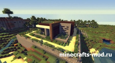 riimy's contemporary house (Современный дом)