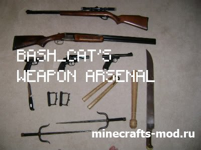 Bash_Cat's Weapon Arsenal (Радость Оружейника) 1.6.4