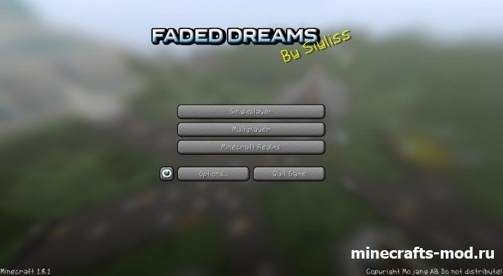 Faded Dreams (Давние мечты) 1.8.1 [64x]